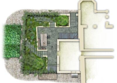 Romantische Ruine, Entwurf 2